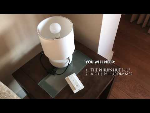 How To Factory Reset Philips Hue Bulbs Using A Dimmer Switch Youtube