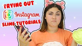 TESTING INSTAGRAM SLIME TUTORIALS PART 3 | recreating popular Instagram slimes | Slimeatory #150