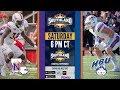 Football: NSU at HBU (Legacy Sports Network)