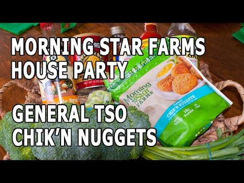 Morning Star Farms House Party: General Tso Chik'n Nuggets