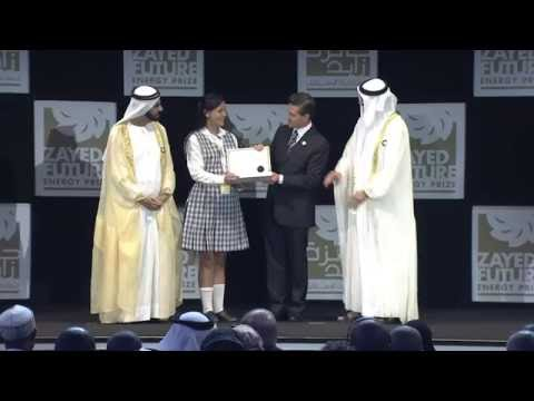 Highlights from the 8th Zayed Future Energy Prize Awards Ceremony