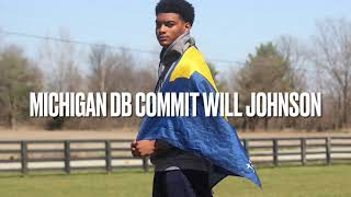 Five-Star Michigan DB Commit Will Johnson DOMINATES!!!