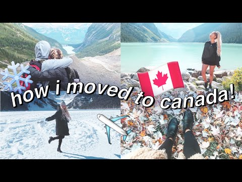 HOW I MOVED TO CANADA! | Working Holiday, IEC Visa Process, Finding A Job, Saving Money, Etc