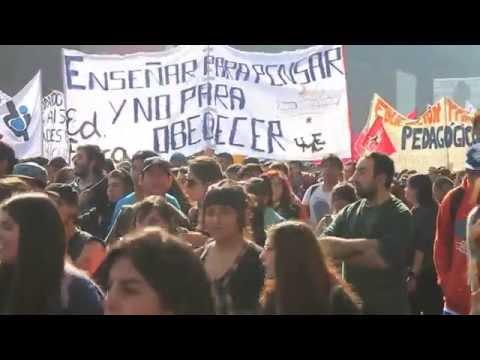 Media VoxPop - Marcha Estudiantil #YoMarchoel14  - Santiago, Chile