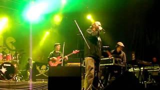 Paleface - Syntynyt Rellestää [Live at jurassic rock 2011]