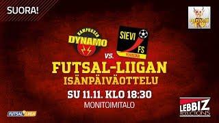 11.11.2018 KaDy - Sievi FS klo 18.30 Futsal-Liiga