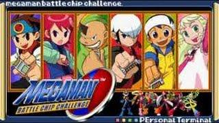 Megaman Battle Chip Challenge - Regular Battle(MM7 Remake)