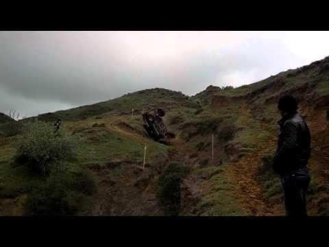 Pajero Crash. Geo Trial