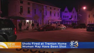 Police Searching For Suspect After Shots Fired At Trenton Home