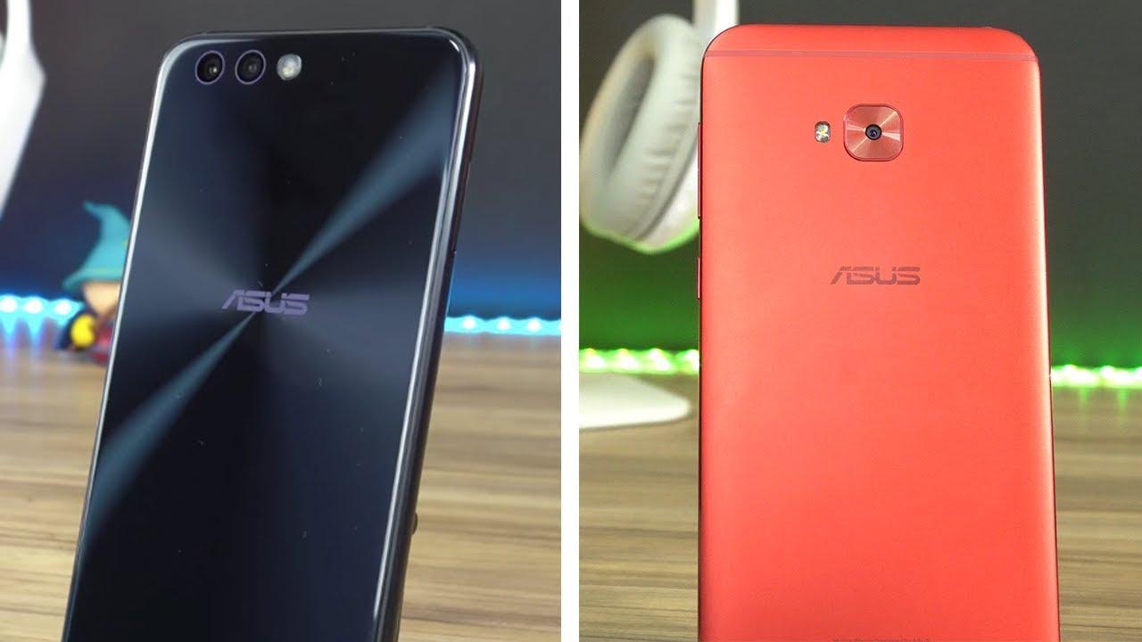 Zenfone 4 vs Zenfone 4 Selfie Pro | Qual o melhor celular ...