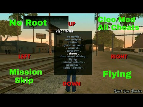 GTA San Andreas: Hack all CHEATS |Mod Menu|without root| Android