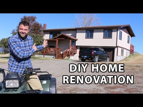 DIY Home Renovation Series Episode 1 - Quest for a Mountain Contemporary Scandinavian Feel