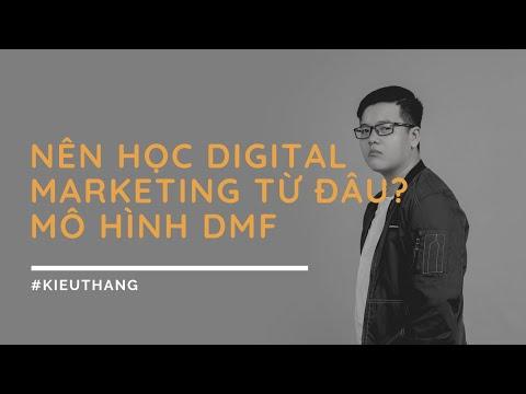 Digital Marketing Funnel (DMF) - Nên học Digital Marketing từ đâu?