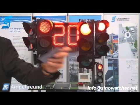 traffic light in dubai show