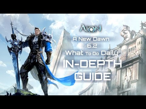 [AION 6.2] In-Depth Guide/What to do Daily (A NEW DAWN)(SUB ITA)