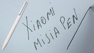 Обзор  ручка Xiaomi Mijia Mi Pen. Стильная и красивая. Так ли она хороша?