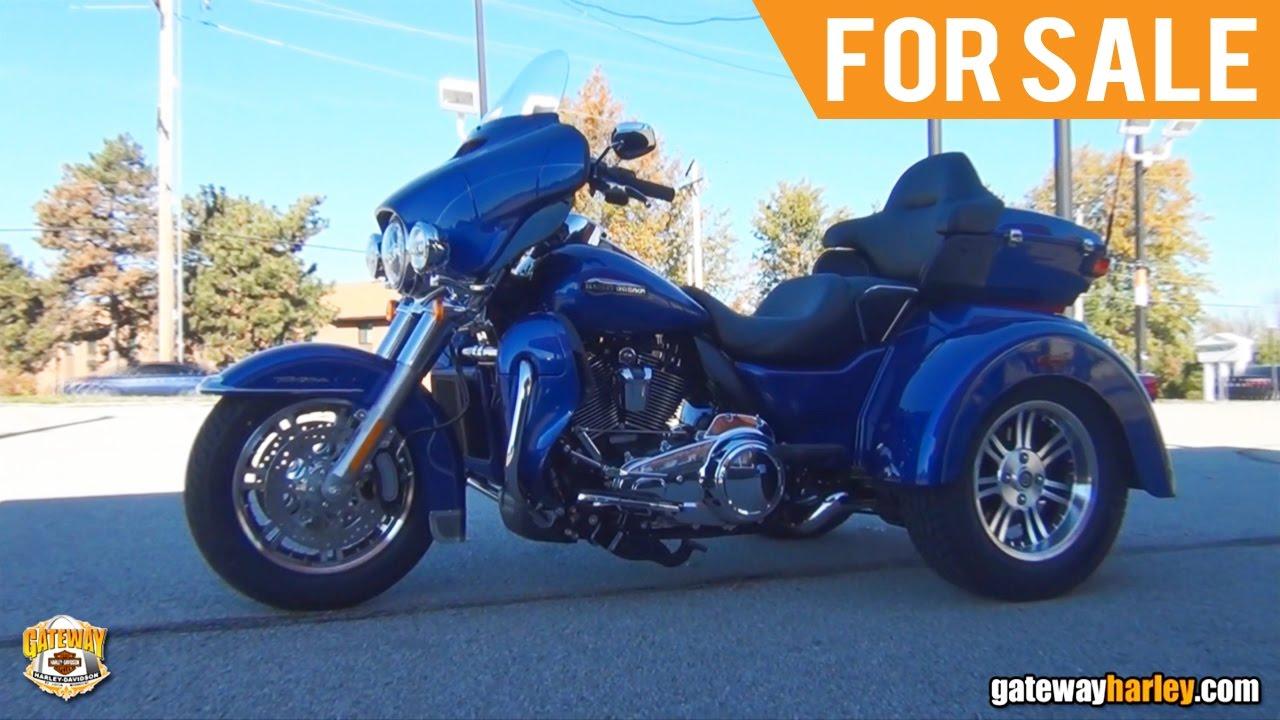 Harley Trikes For Sale >> 2017 Harley Davidson Trike Milwaukee Eight Engine For Sale Illinois - YouTube