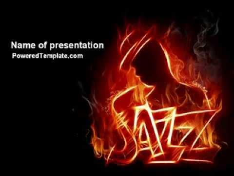 Jazz powerpoint template by poweredtemplatecom youtube for Poweredtemplate
