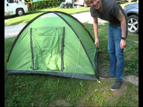How to build a tent & How to build a tent - YouTube