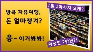 방콕 자유여행 경비 예산 얼마면 될까요? 관광객 입장 …