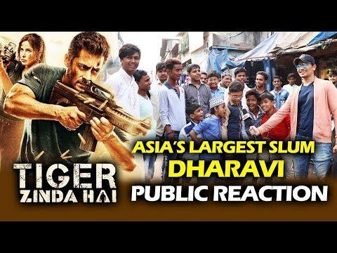 Salman's Tiger Zinda Hai Excitement | Public Reaction From Dharavi Slum - Asia's Largest Slum