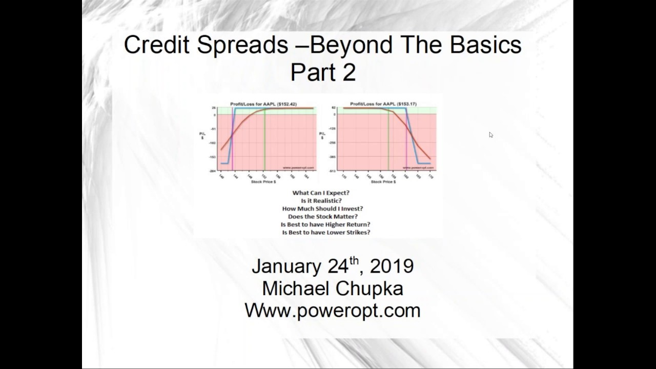 Credit Spreads - Beyond the Basics, Part 2