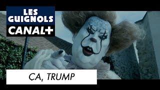 Après Ça le film, voici Ça... Trump (Parodie par Les Guignols)
