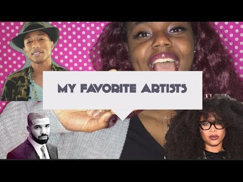MY TOP 20 Favorite artists   ITSAudaWayLit!
