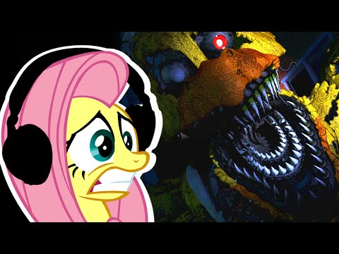 Fluttershy plays Five Nights at Freddy's 4