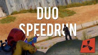 How the BEST DUO in RUST SPEEDRUN ENDGAME!