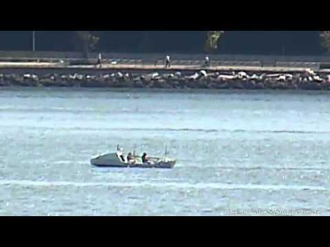 Riaan Manser's TM2NY Arrives in New York Harbor 06-20-2014