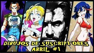 INCREÍBLE Galería de DIBUJOS SUSCRIPTORES Abril #1. EPIC SUBSCRIBERS DRAWINGS Gallery April #1