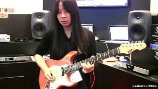 BABYMETAL神バンド、名ギタリストの藤岡幹大さんのギター演奏です!謹んでご冥福をお祈り申し上げます。仮BAND「仮音源」からの「Common time's...