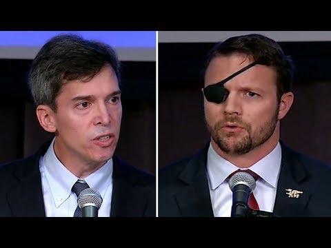 Todd Litton and Daniel Crenshaw in Texas U.S. House District 2 debate