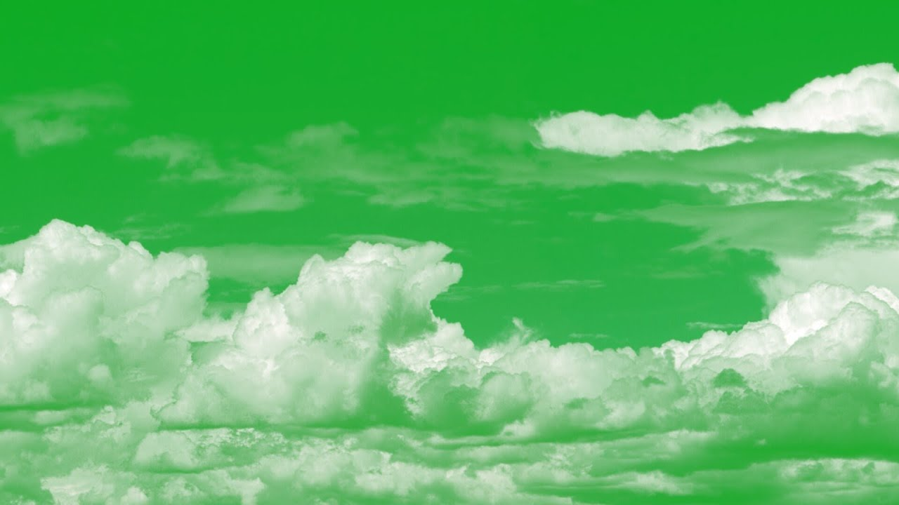 Sky Hd Wallpaper Animated Clouds On Green Screen Youtube