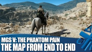 MGSV: The Phantom Pain - The Map From End to End
