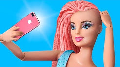 Never Too Old for Dolls: 10 DIY Barbie Doll Hair And Makeup Transformations