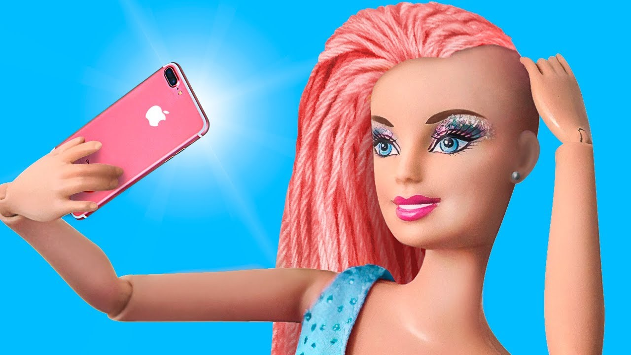Never Too Old For Dolls: 10 DIY Barbie Doll Hair And