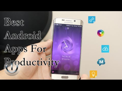 Best Android Apps For Productivity Showcase 2015!