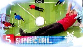 Verdens mærkeligste fodboldspil? | 5. Halvleg | Kanal 5