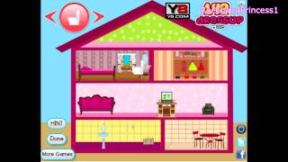 Barbie Doll House Game Barbie Decorating Game