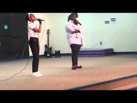 Arianna & Jazz David L Walker Int Talent Show #1