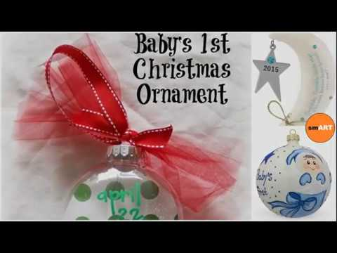 Christmas Ornaments For Kids Babys First Christmas Ornament