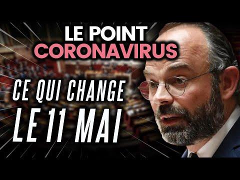 Changement de votre vie le 11 mai, résumé du discours d'Edouard Philippe... Le point coronavirus