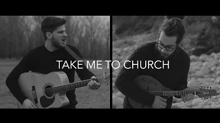 Hozier - Take Me To Church (Damien McFly ft. Facs acoustic folk cover)