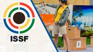 10m Air Pistol Women Final - 2016 ISSF Rifle, Pistol, Shotgun World Cup in Baku (AZE) thumbnail