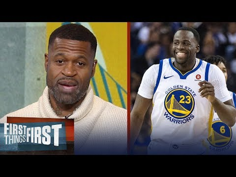 Stephen Jackson talks Warriors over Spurs, Kawhi's San Antonio future | FIRST THINGS FIRST
