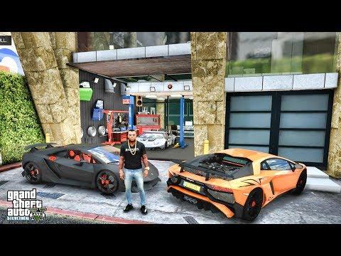 GTA 5 REAL LIFE MOD #597 - LAMBORGHINI SESTO ELEMENTO!!! (GTA 5 REAL LIFE MODS)