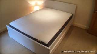 Ikea Bed Frame - Brusali With Storage Boxes Design