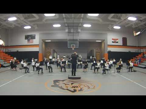 2020 Bay Minette Middle School Concert Band Christmas Concert